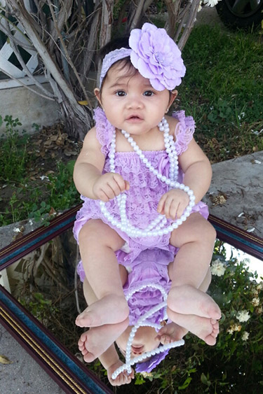 Emma Sylvia Garcia, Sylvia's neice. Photo courtesy Cynthia and Manuel Garcia.
