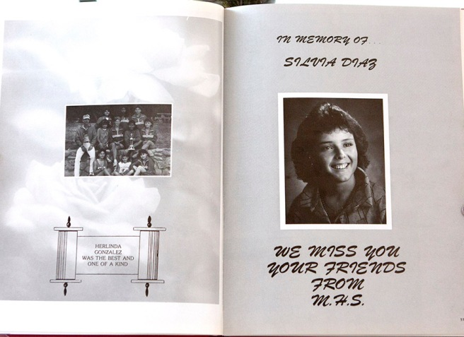 Herlinda and Sylvia's memorial page.